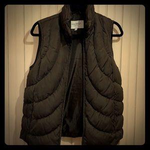 Nine West Brown Puffy Vest